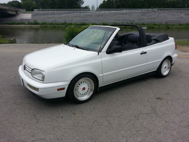 1997 vw convertible cabrio white